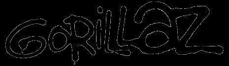 Gorilaz Logo Preto E Branco Pesquisa Google Neon Signs Gorillaz Neon