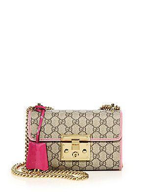 354eb407 Gucci Padlock GG Supreme Small Shoulder Bag | NO PAPER BAGS ALLOWED ...