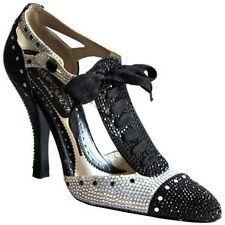 9f567a614ae YVES SAINT LAURENT YSL by TOM FORD Spectator Swarovski Crystal Pumps Heels  Shoes