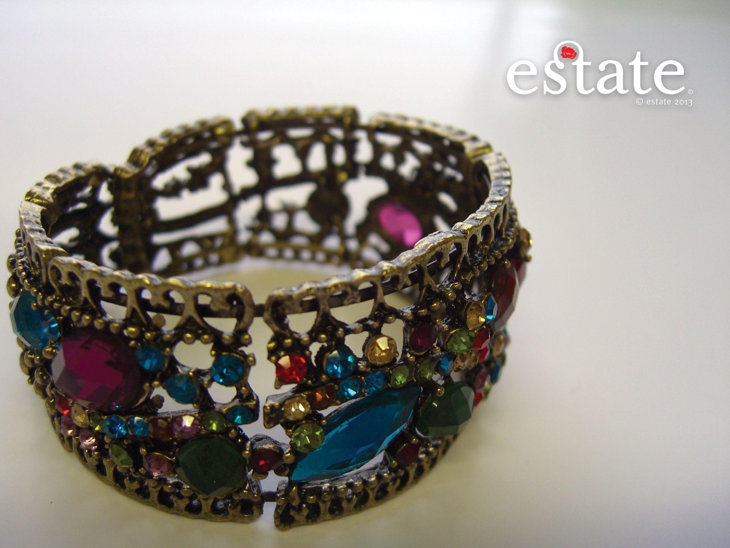 Make this elegant jeweled bracelet yours for $10