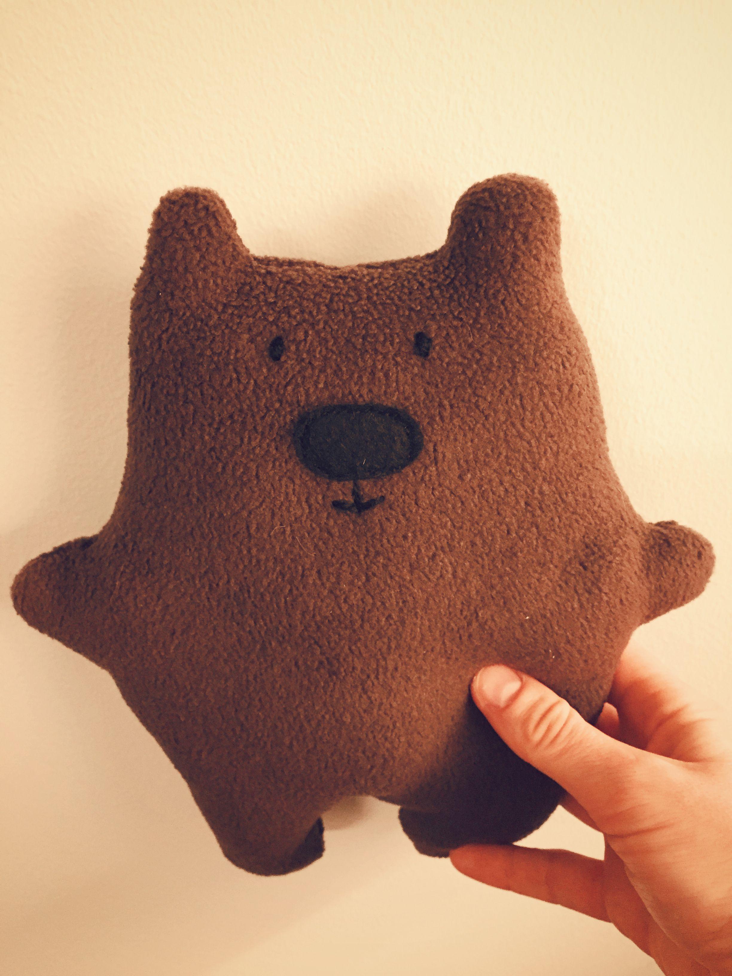 DIY Easy Teddy Bear FREE Sewing Pattern and Tutorial