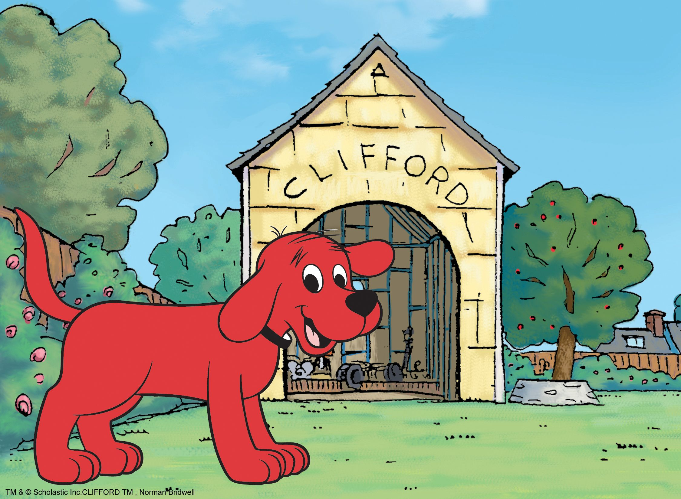 Clifford The Big Red Dog Sea Animals Drawings Animal Drawings