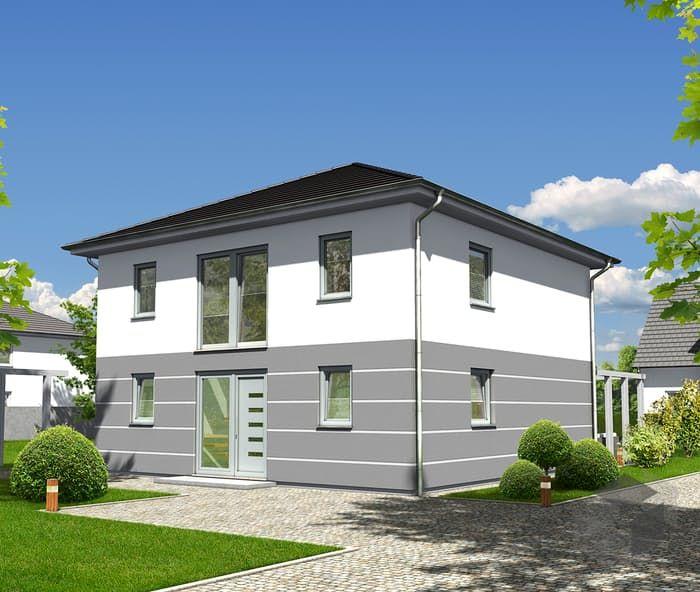 Dieses und viele Häuser mehr gibt es auf Fertighaus.de
