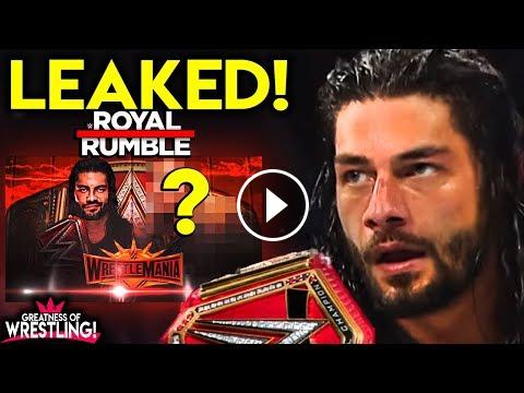 LEAKED WWE Royal Rumble 2019 Winner! CHANGED? wwe#wwe#2k19