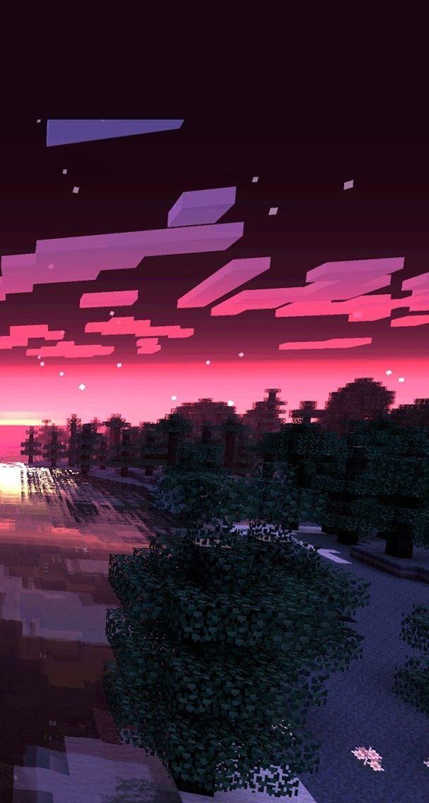 THEN A CREEPER BLOWS UP!! D= Minecraft wallpaper