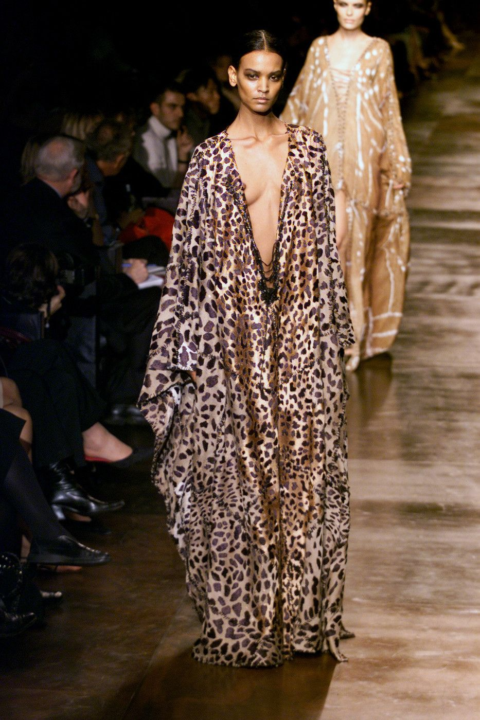 b32387a861c Liya Kebede, Yves Saint Laurent by Tom Ford spring 2002 Ready to Wear.