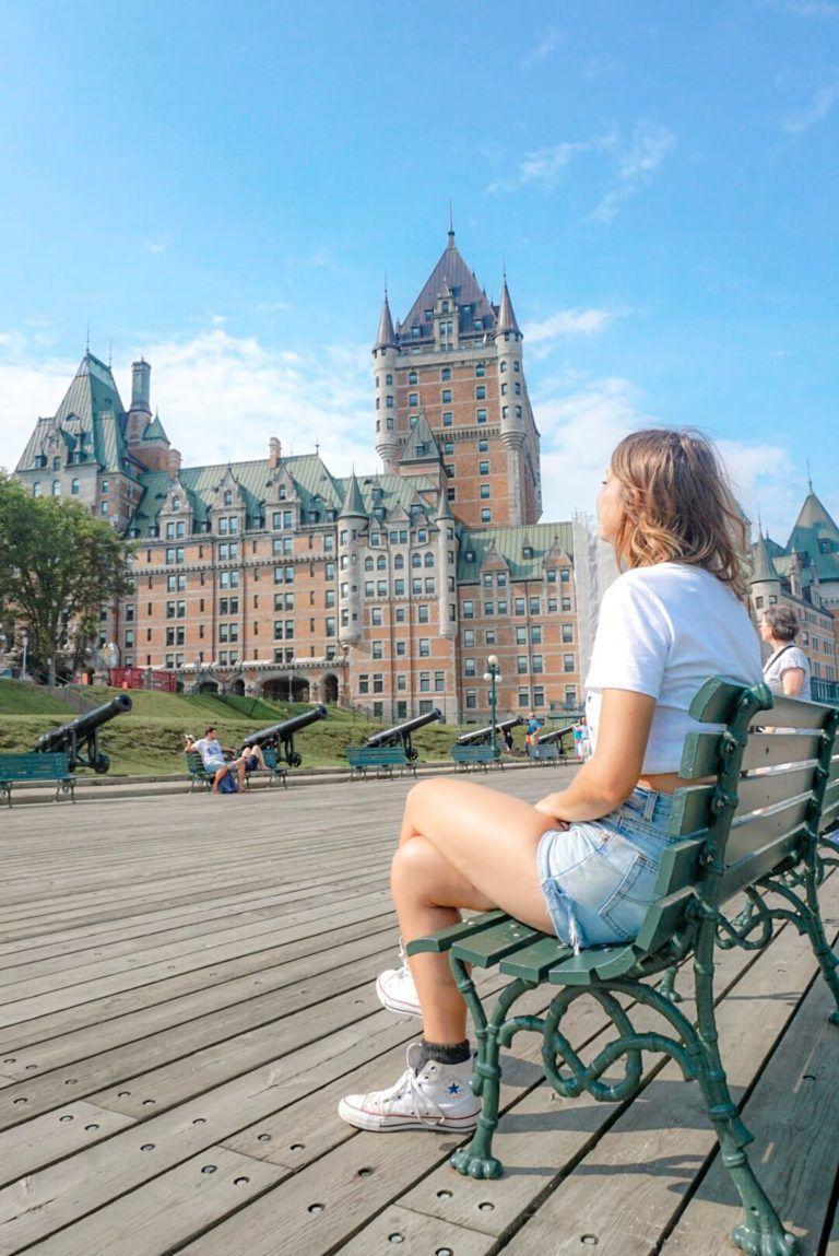 Visiter La Ville De Quebec La Chute Montmorency Et L Ile D Orleans Ville De Quebec Chute Montmorency Visiter Quebec