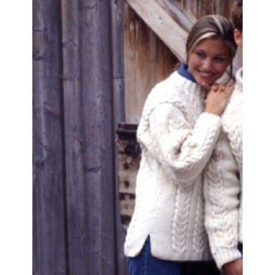 Free Intermediate Women\'s Sweater Knit Pattern | Free Knit Sweater ...
