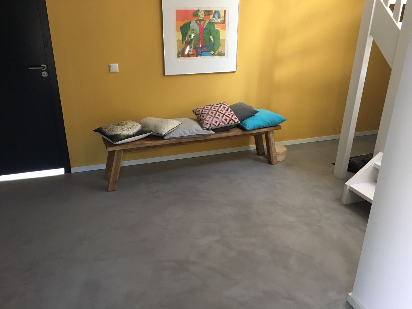 Woonbeton pure ambacht bruizt betonstuc woonbeton design