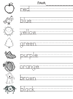 authentic suburban gourmet homeschool curriculum kindergarten writing kindergarten colors. Black Bedroom Furniture Sets. Home Design Ideas