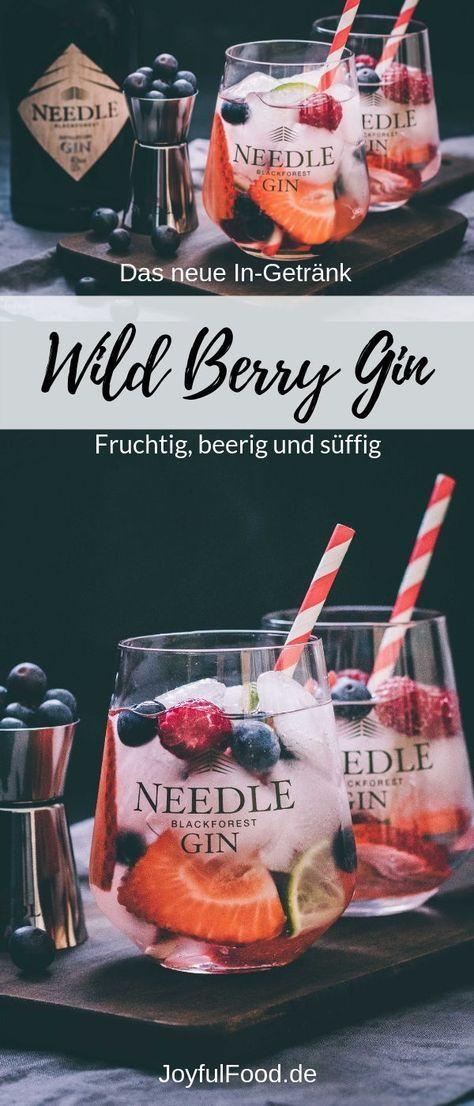 Gin Tonic Rezept: wild berry Gin #cocktaildrinks