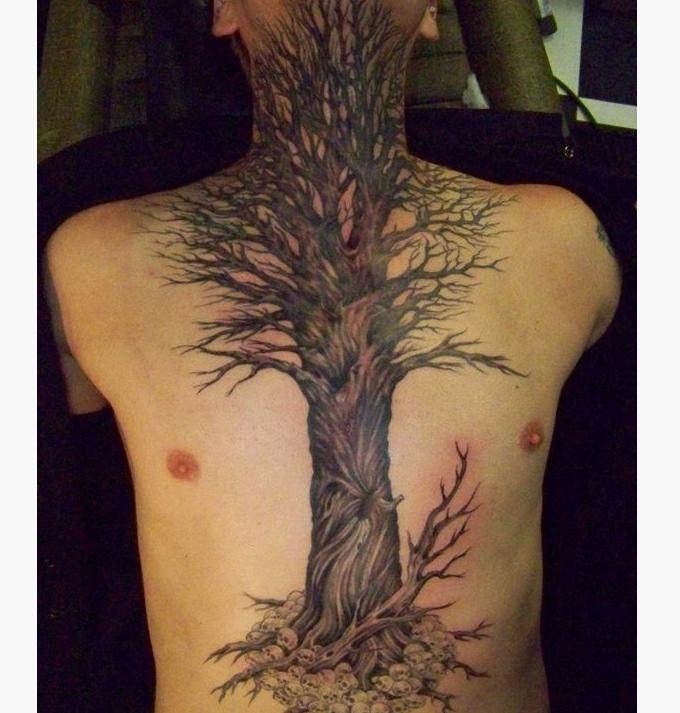 36 Fresh Tree Tattoo Ideas for Men and Women Tree tattoo