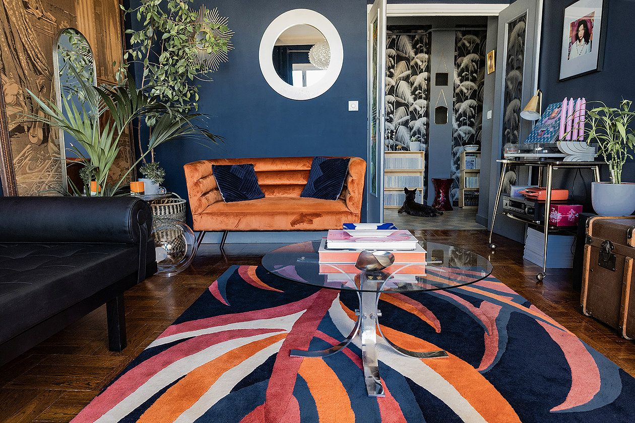 Orange Mecanique Ou Comment Utiliser L Orange En Decoration Decoration Interieure Salon Orange Decoration Elegante
