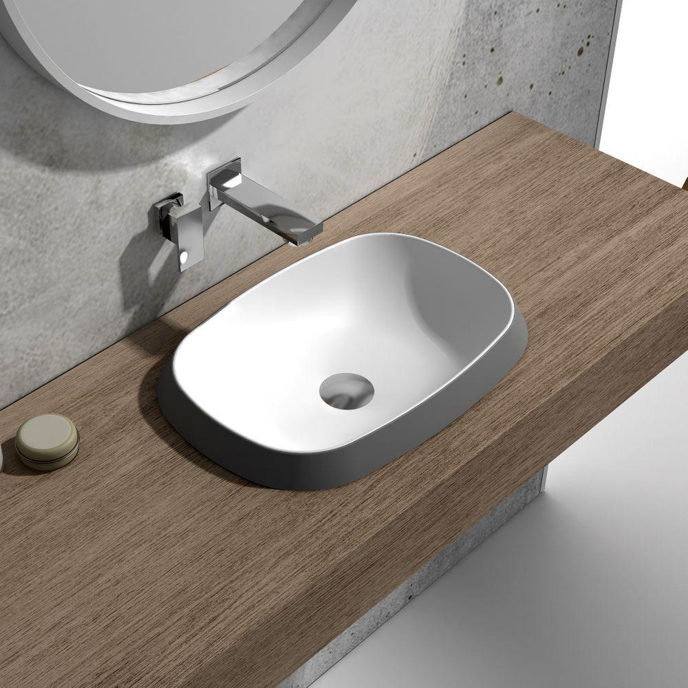 Aufsatzwaschbecken Fur Das Bad Gunstig Online Kaufen Aufsatzwaschbecken Waschbecken Moderne Waschbecken