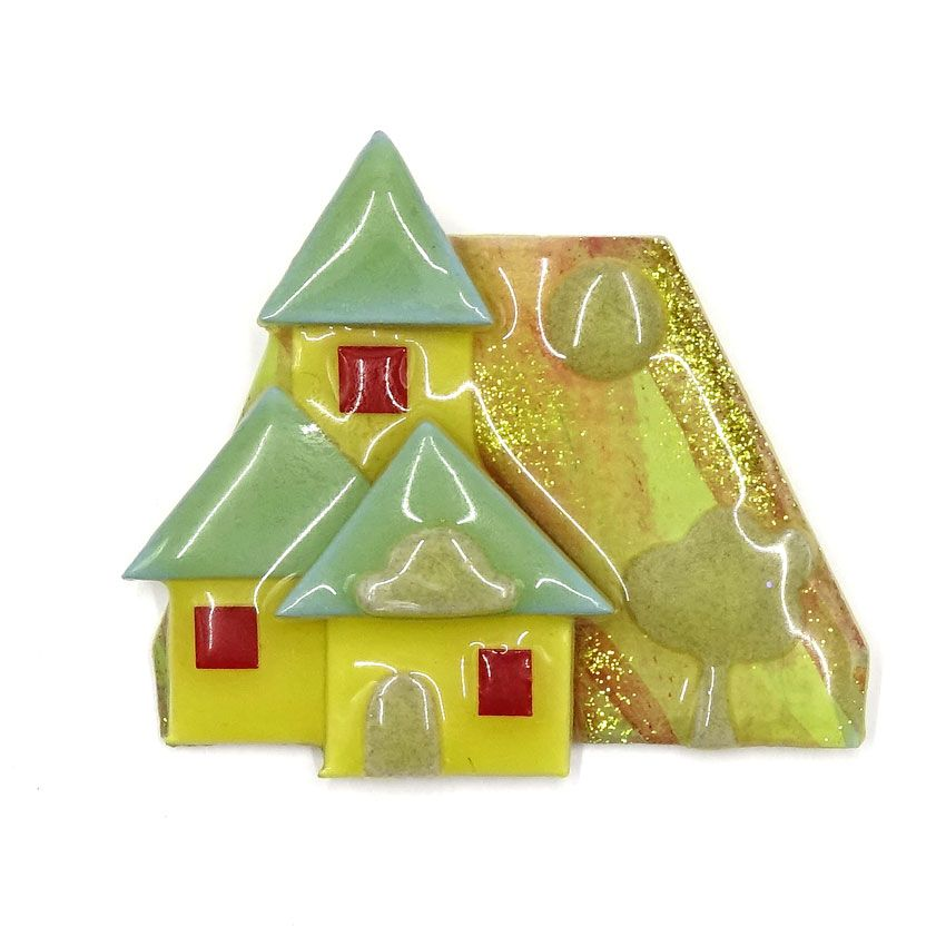 Lucinda House Pin Three Blue Roofs | Blue roof, Holiday ...