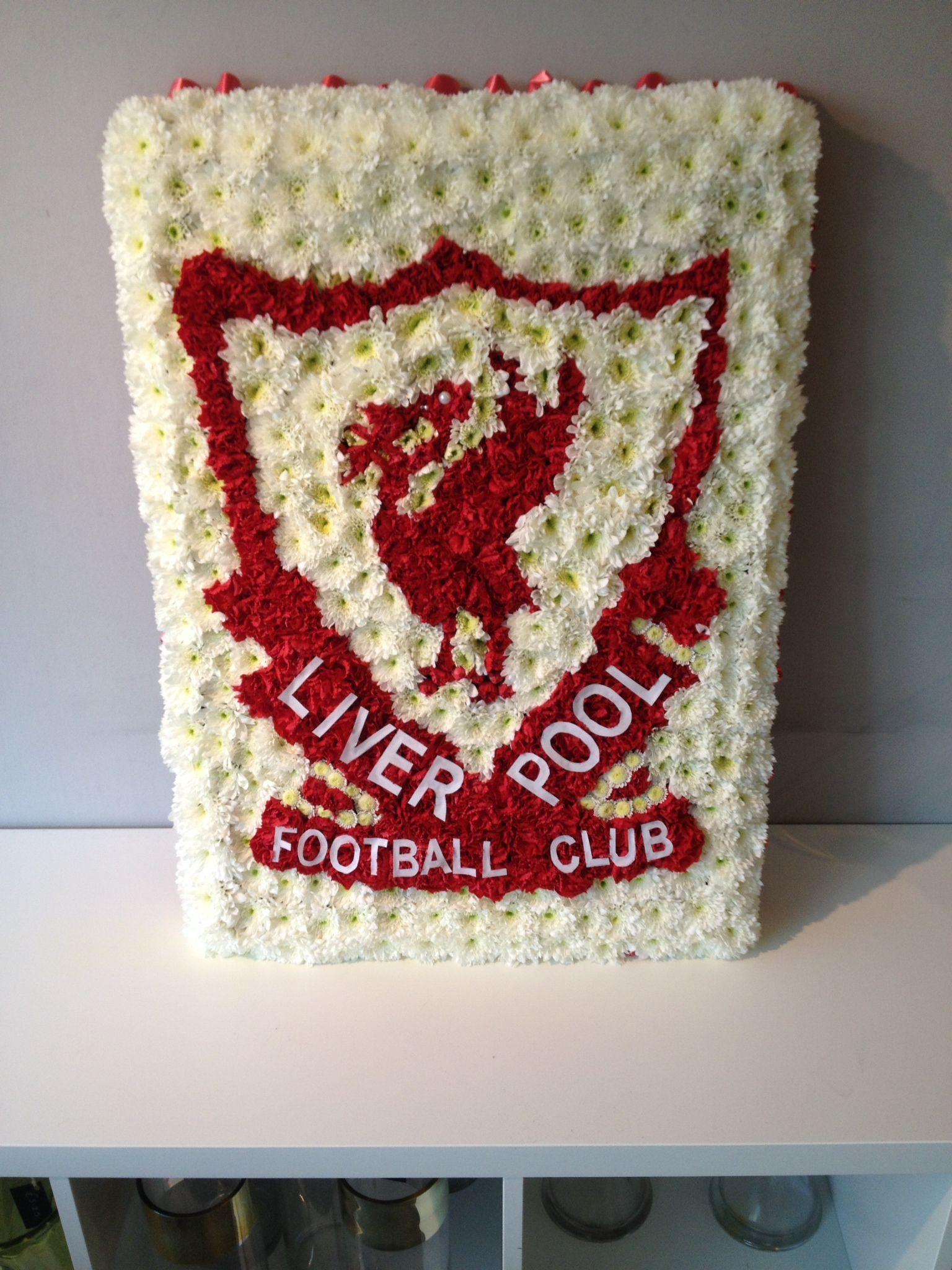 Liverpool Football Club Badge Funeralflowers Liverpoolbadge