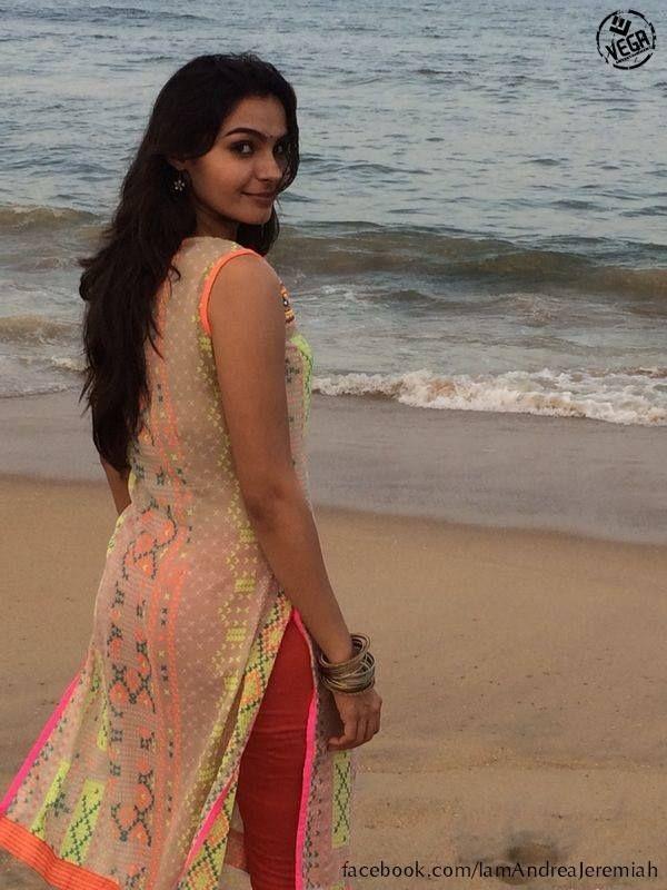 Andrea Jeremiah In Salwar