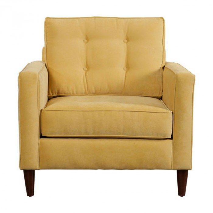 Best Zuo 100177 Savannah Chair In Golden Mid Century Modern 400 x 300