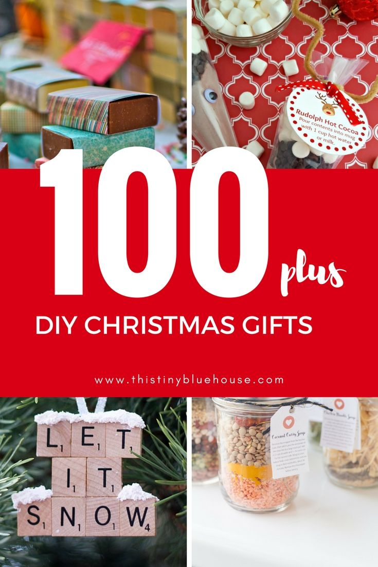 100+ DIY Budget Friendly Christmas Gifts | Easy Kids\' Crafts ...
