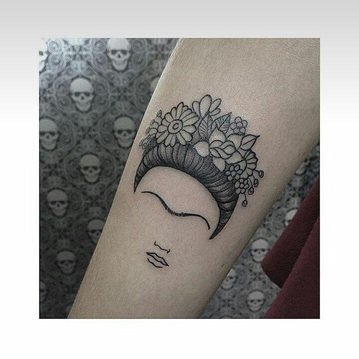 frida kahlo tattoo blackwork tattoo inkspiration pinterest baum des lebens tattoo ideen. Black Bedroom Furniture Sets. Home Design Ideas