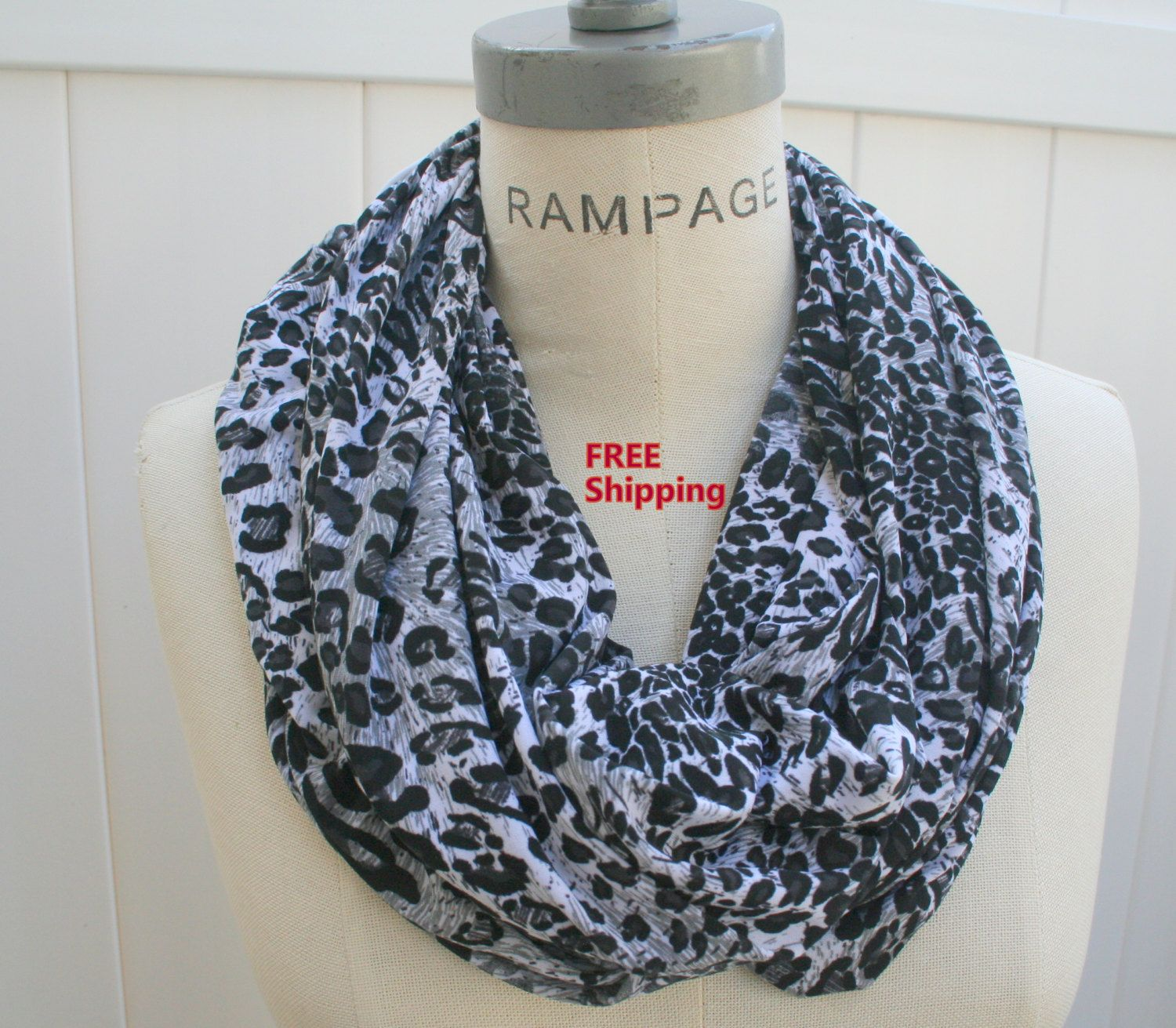 Most Popular Items White Hant Knit Scarf Infinity Scarf