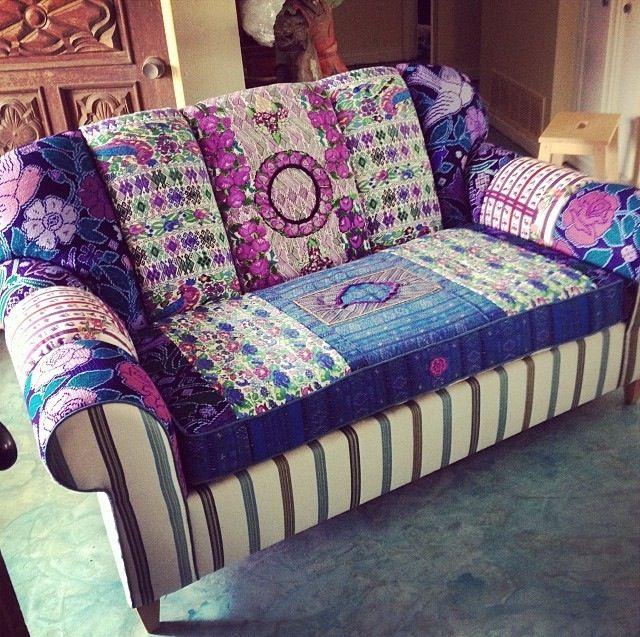 Georgia Bohemian Chic Sofa by Folk Project www.folk-project.com