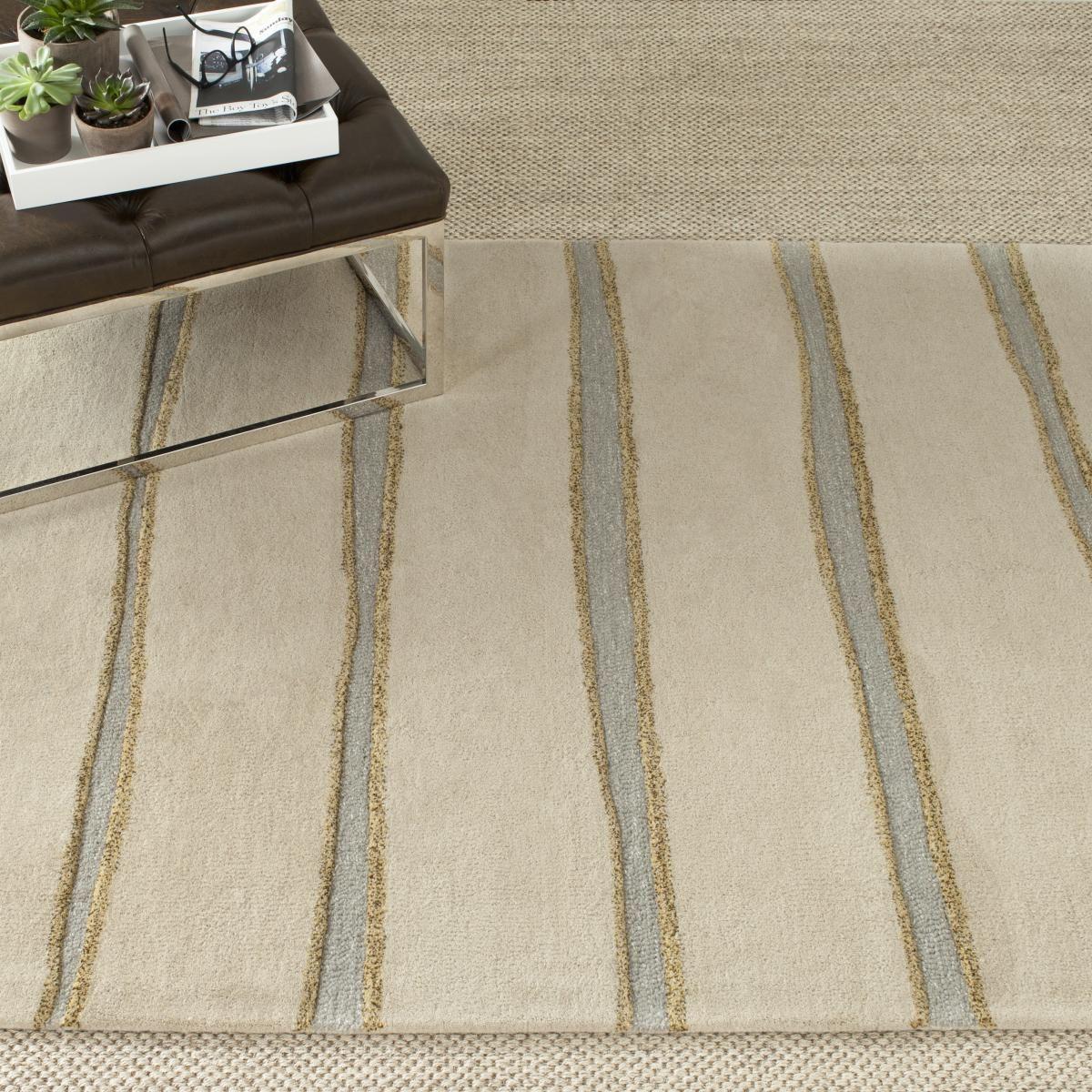 Rug Msr3617a Chalk Stripe Martha Area Rugs By