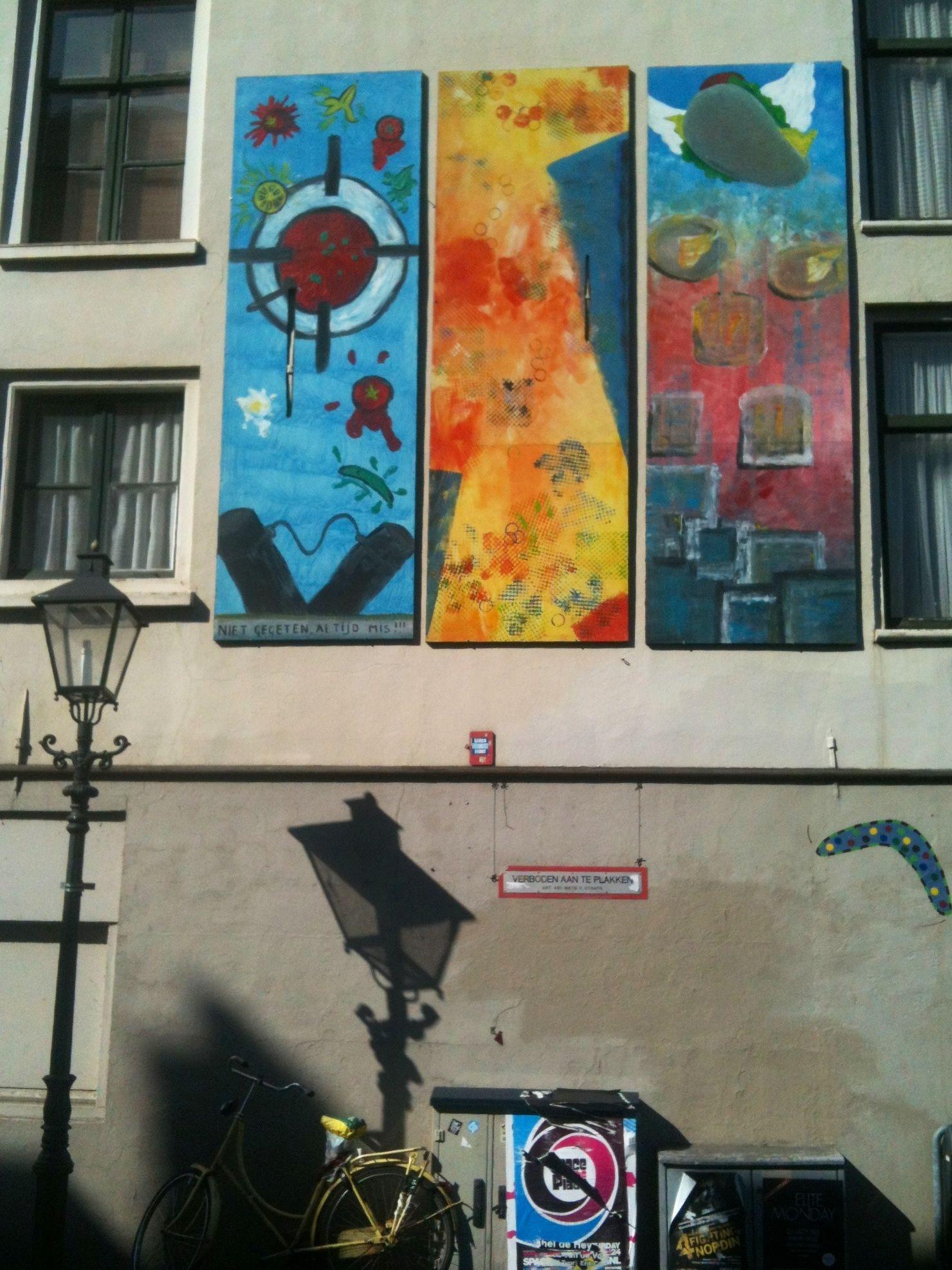 Graffiti wall utrecht -  Niet Gegeten Altijd Mis Graffiti In Utrecht The Netherlands