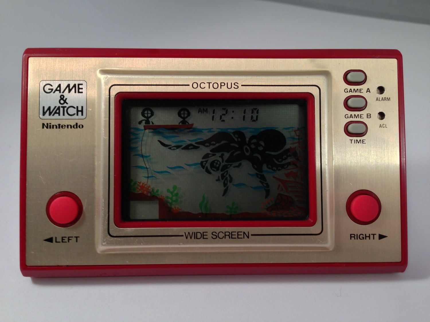 Nintendo Game & Watch - Octopus -Video Game (OC-22, 1981 ...