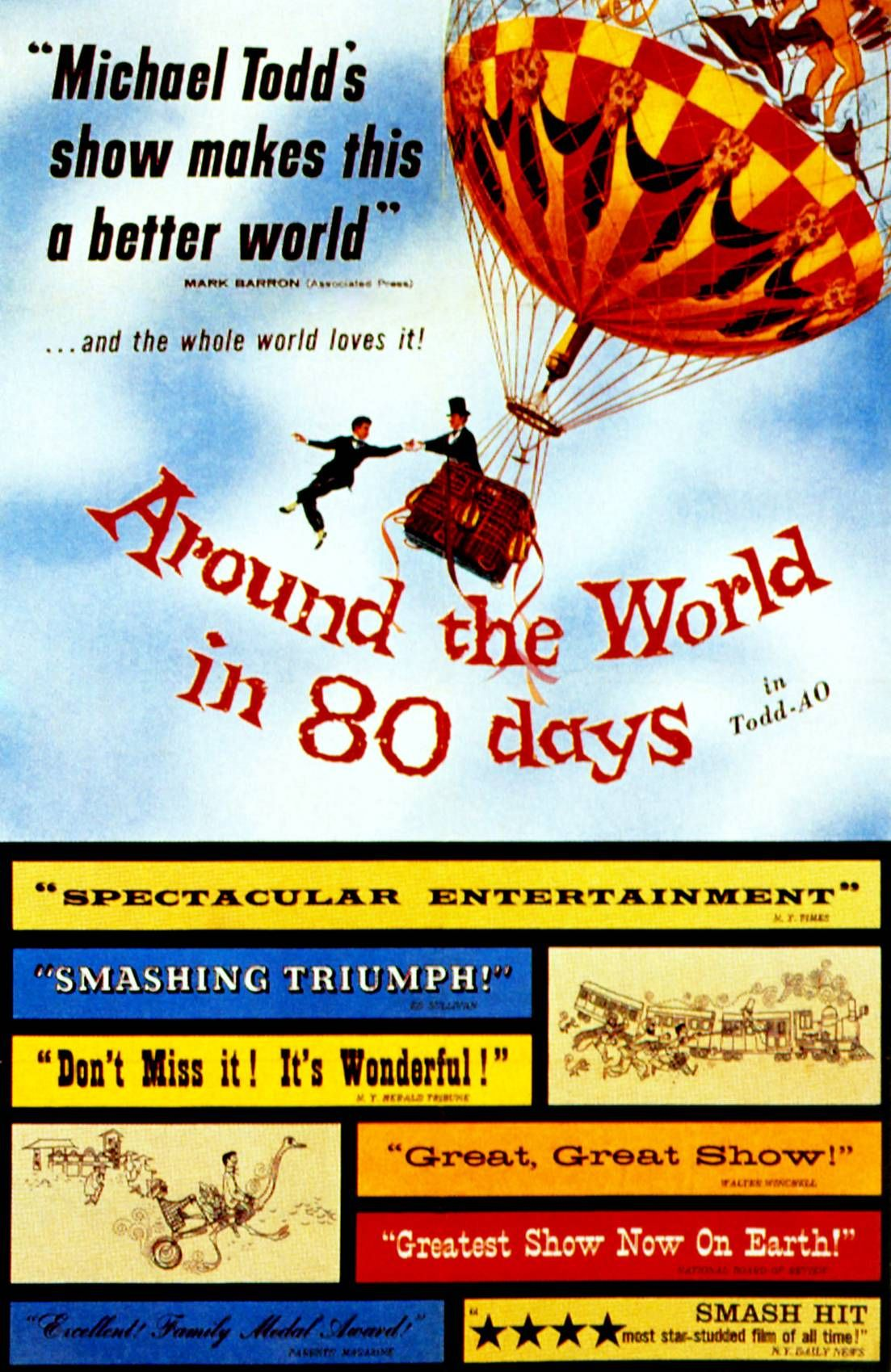 Around The World In 80 Days Directed By Michael Anderson 2nd