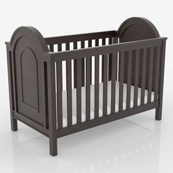 Lolly And Me Ellery 3 In 1 Convertible Crib Kohls 342 Cribs Convertible Crib Espresso Convertible Crib