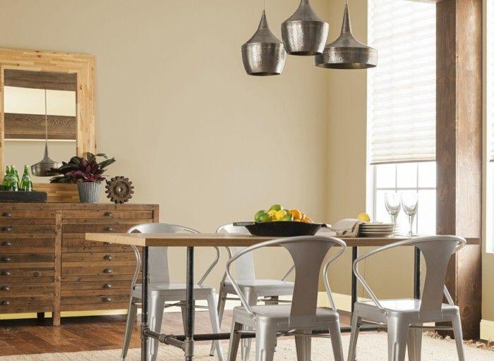 Wohnfarben Wandfarben Trends Interior Design Farbe Mushroom Holz