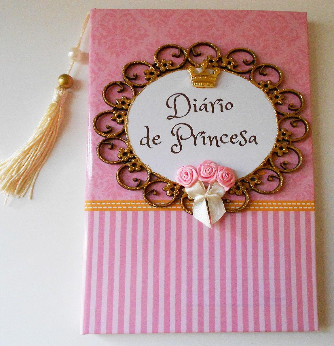 Diario De Princesa Agendas Cadernos Decorados Cadernos