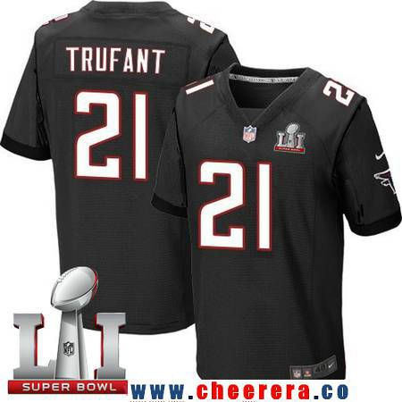 Hot Men's Atlanta Falcons #21 Desmond Trufant Black Alternate 2017 Super  supplier