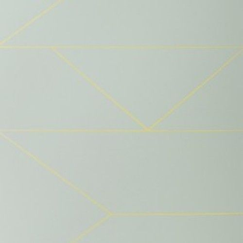 Ferm Living Lines Wallpaper behang mint