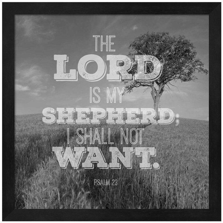 Metaverse Art The Lord Is My Shepherd Framed Wall Art