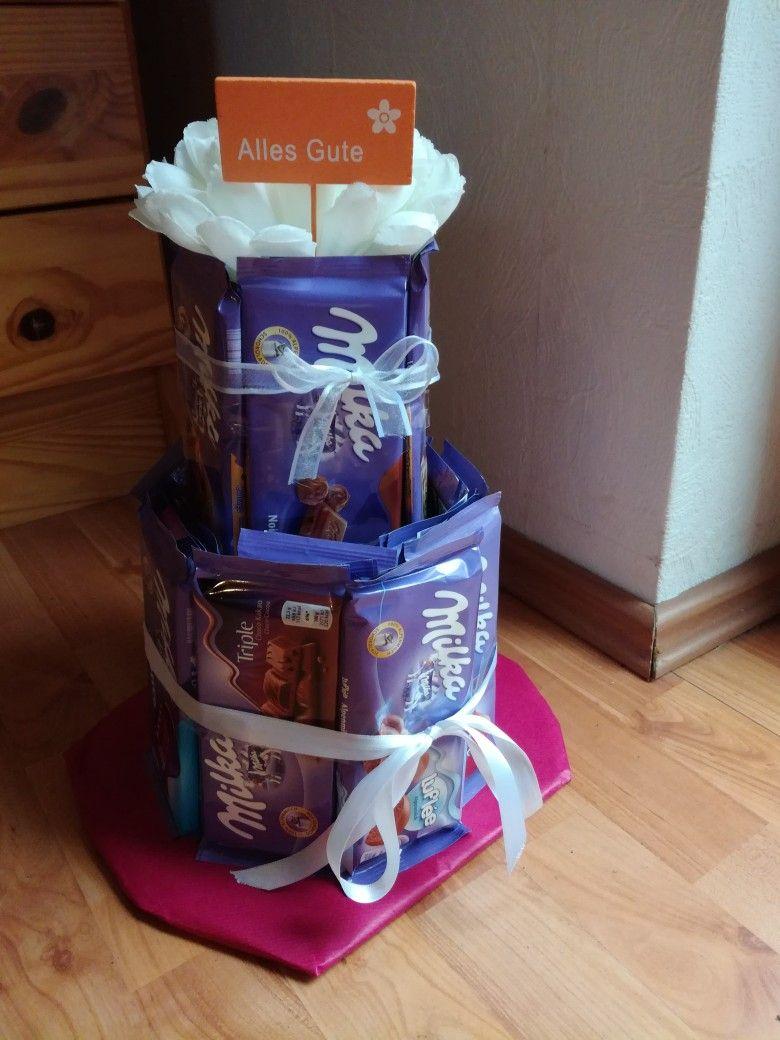 35++ Geschenke basteln mit schokolade Sammlung