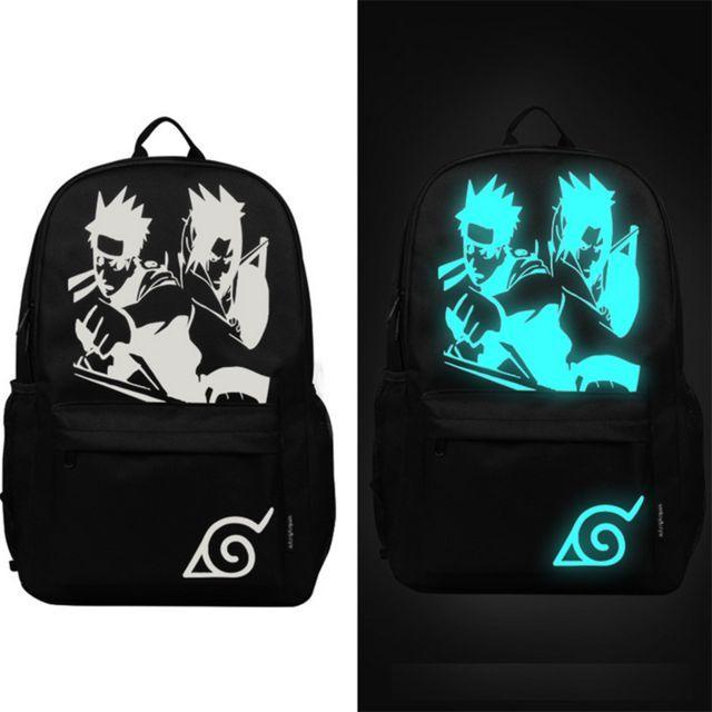 0b0f3922101 Senkey style Fashion Noctilucent Men s Backpack Anime Luminous ...