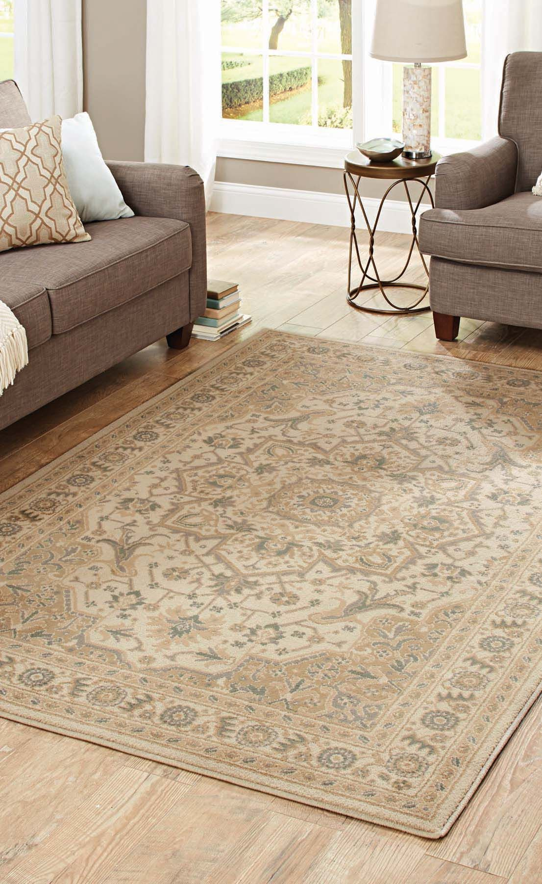 Better Homes and Gardens Neutral Traditions Area Rug or Runner
