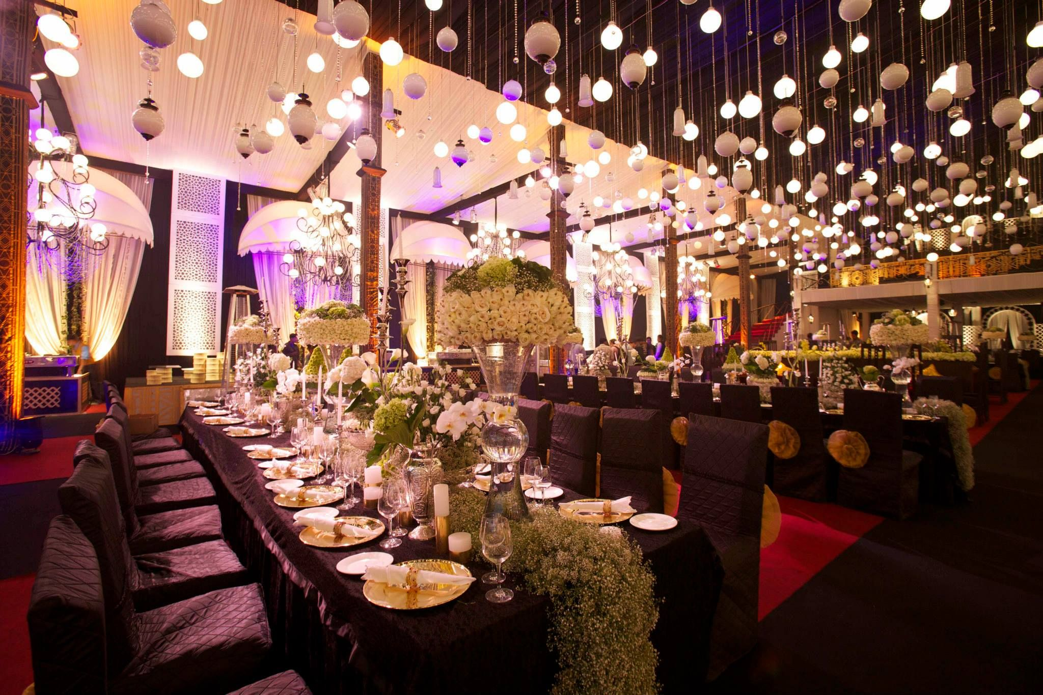Lovely Wedding Decor by Q Events