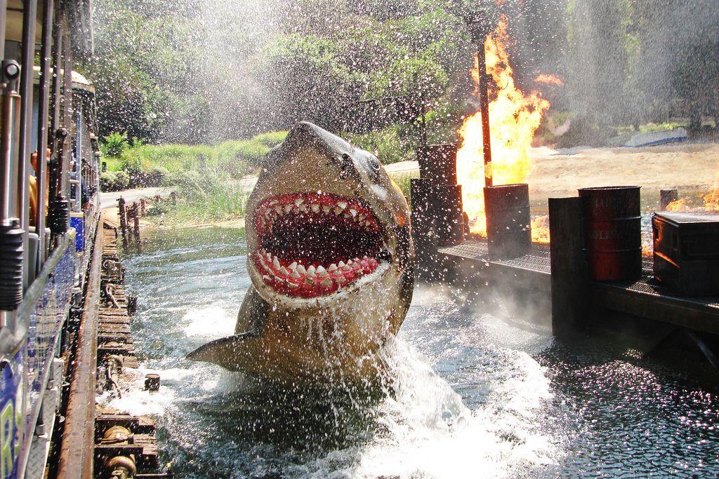 Jaws 2 set at Universal Studios Hollywood