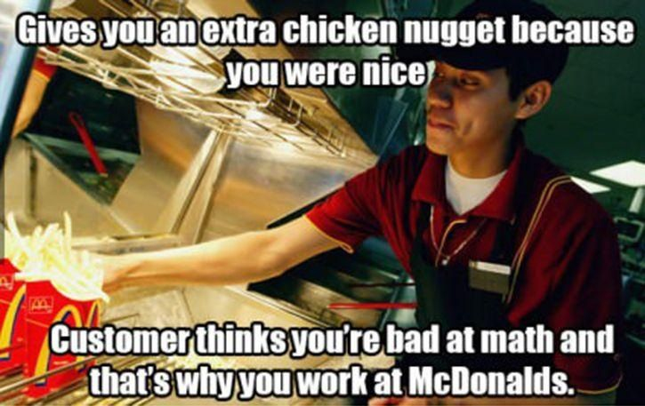 Fast Food Worker Meme