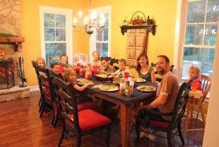 Large Family Dining Tables Are Hard To Come By! I Know. Been There.