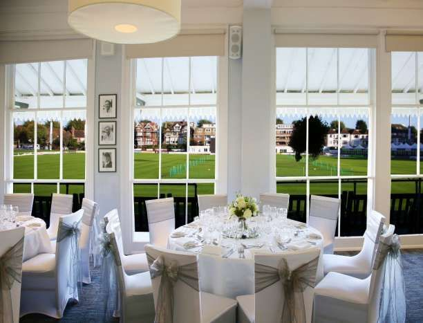 County Ground Hove In Brighton Sussex Is A Lovely Wedding Reception Venue Pitch View