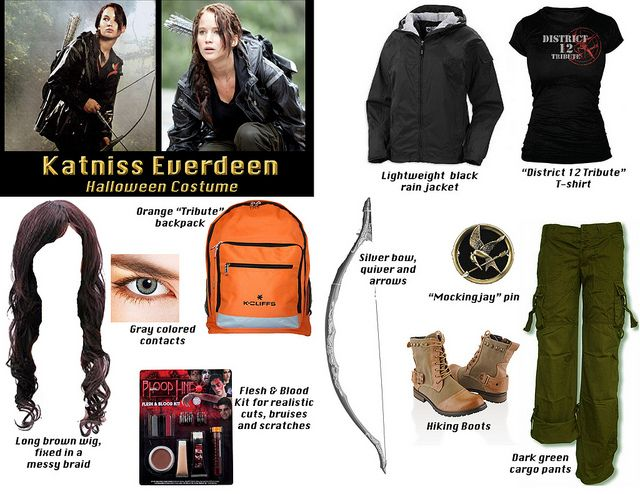 Katniss costume katniss costume costumes and hunger games katniss costume by hilary via flickr solutioingenieria Gallery