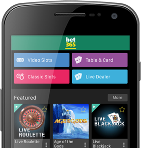 Download the bet365 casino app on android