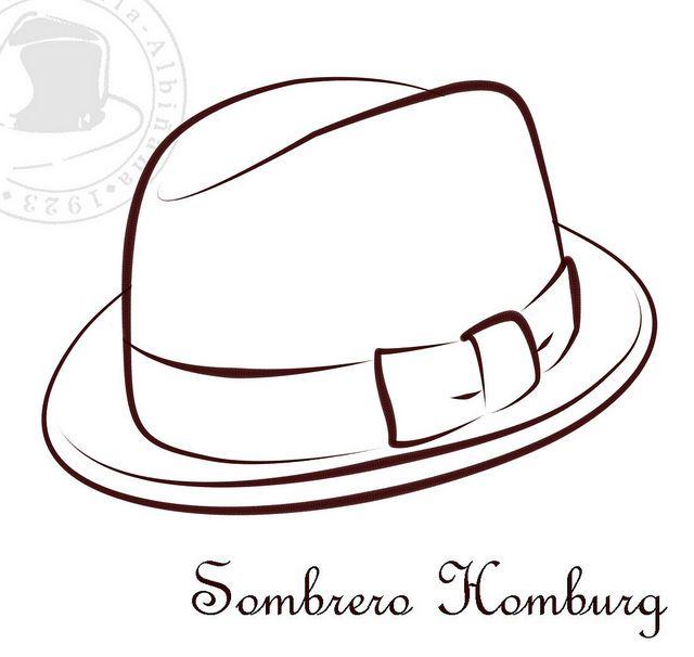Sombreros Para Colorear Ii Modelos De Sombreros