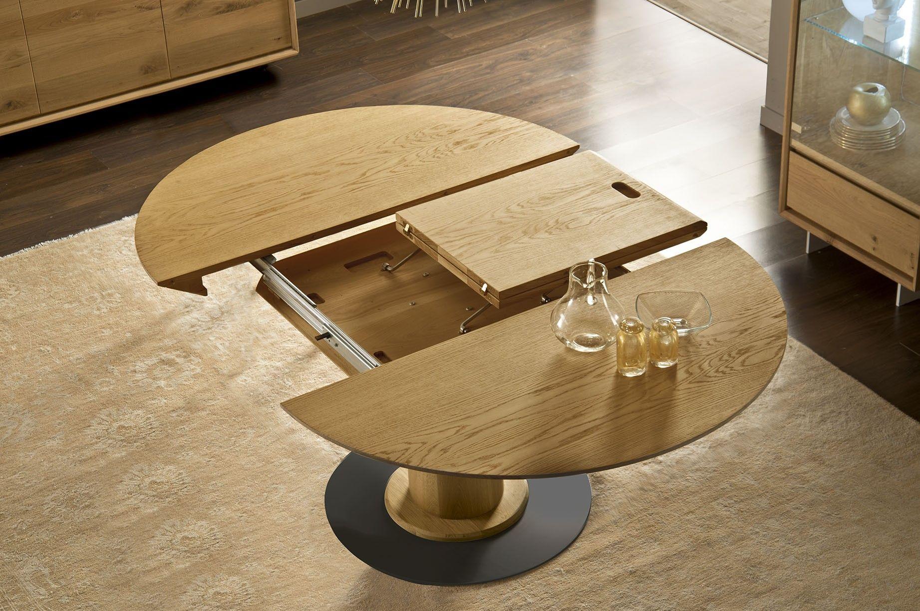 Articolo 12 10 Tavolo Allungabile In Rovere Massello Collezione Project Di Special Wood Arredamentimazzoldi Com T Tavolo E Sedie Tavoli Tavolo Allungabile