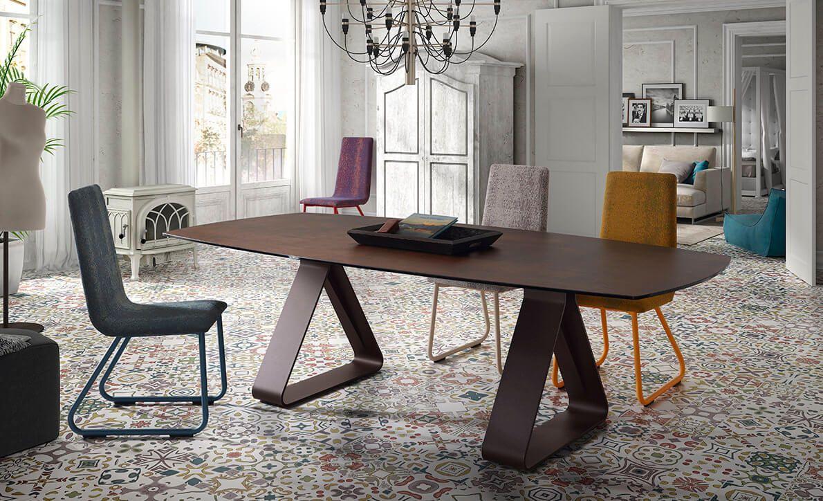 Table Ceramique Mobliberica Stay Tonneau Spanish Furniture Home Decor Furniture Design