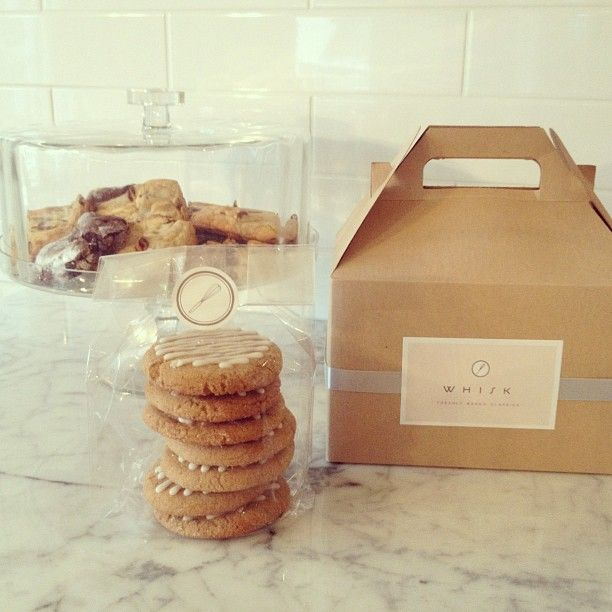 Because Santa.... and baby girl only deserve the best! The most amazing cookies made by Whisk! | thewhisk.ca by Julie Moore